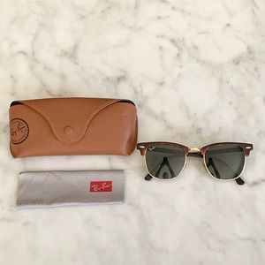 Ray-Ban Accessories - Ray Ban Clubmaster Tortoise Sunglasses